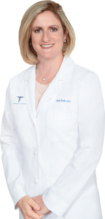 Amy Roth, D.O., Board Certified in Internal Medicine